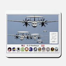 E-2 Hawkeye Mousepad