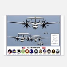 E-2 Hawkeye Postcards (Package of 8)
