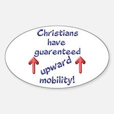 Christian Oval Decal