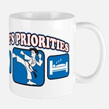 Life's Priorities Karate Mug