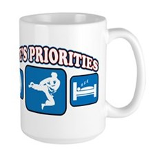 Life's Priorities Karate 2 Mug