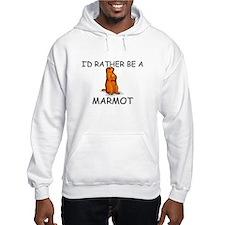 I'd Rather Be A Marmot Jumper Hoody