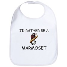 I'd Rather Be A Marmoset Bib