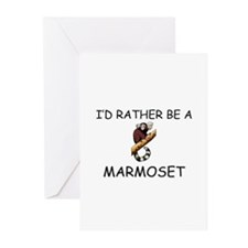 I'd Rather Be A Marmoset Greeting Cards (Pk of 10)