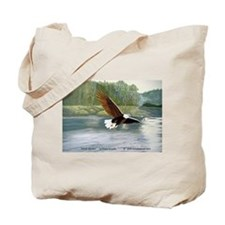 American Bald Eagle Flight Tote Bag