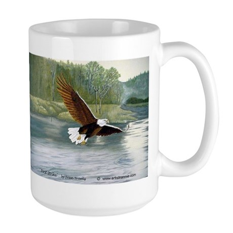 American Bald Eagle Flight Large Mug