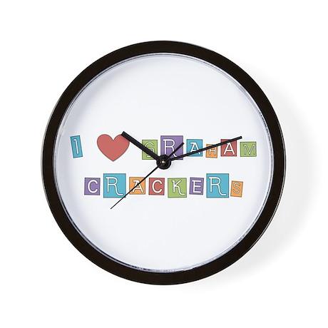 graham cracker Wall Clock