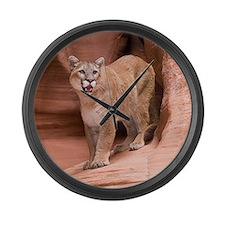 Cougar Large Wall Clock