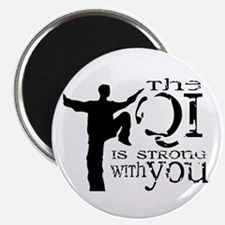 Qi is Strong Magnet