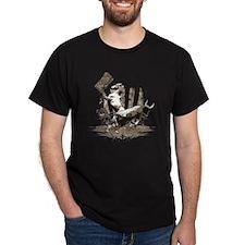 Horse and Bull dark t shirt