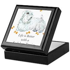 Sealyham Terrier Good Life Keepsake Box
