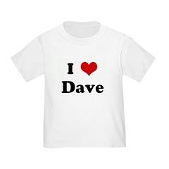 I Love Dave T