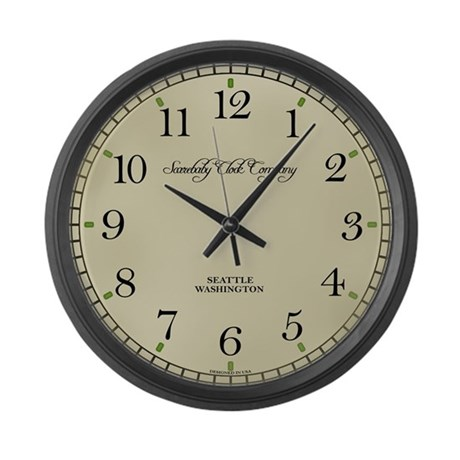 Classical Style Large Wall Clock