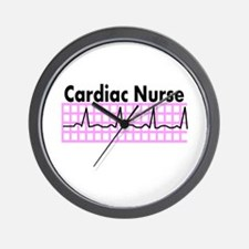 Cute Cardiac nursing Wall Clock