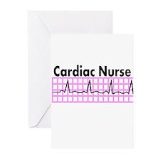 Cute Cardiac nurse Greeting Cards (Pk of 20)
