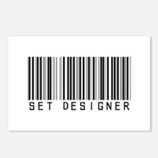 Set Designer Barcode Postcards (Package of 8)