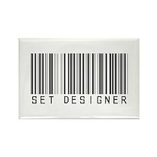 Set Designer Barcode Rectangle Magnet