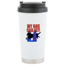 My Dog Can Fly Travel Mug