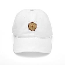 50cal Flower Baseball Cap