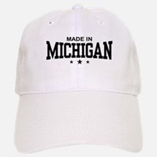 Made in Michigan Baseball Baseball Cap