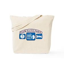 Life's Priorities Bowling Tote Bag