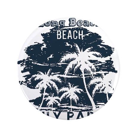 "North Carolina - Long Beach 3.5"" Button (100 pack)"