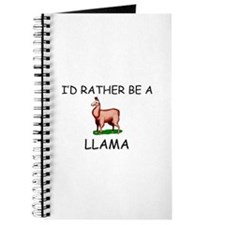 I'd Rather Be A Llama Journal