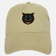 Vintage Black Cat Baseball Baseball Cap