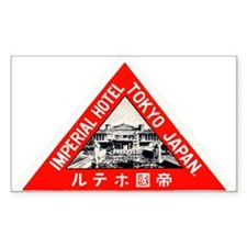 Imperial Hotel, Tokyo Luggage Sticker (UnTrimmed)