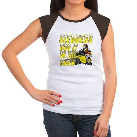 Sledders Doo Women's Cap Sleeve T-Shirt