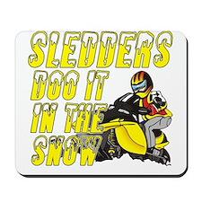 Sledders Doo Mousepad