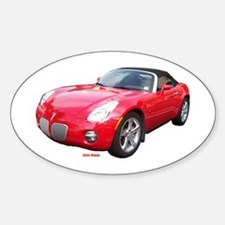 Pontiac Solstice Oval Decal