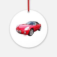Pontiac Solstice Ornament (Round)