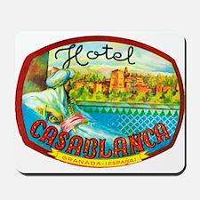 Hotel Casablanca Mousepad