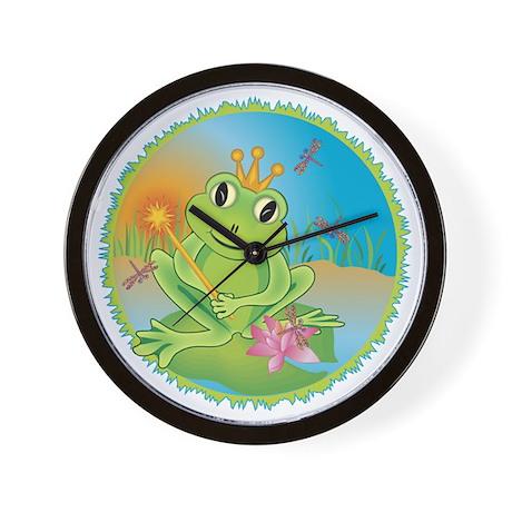 Frog Prince Wall Clock