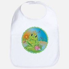 Frog Prince Bib