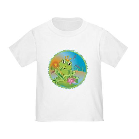 Frog Prince Toddler T-Shirt