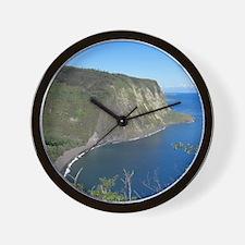 Waipio Valley Wall Clock