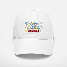 Abigail's 3rd Birthday Baseball Baseball Cap