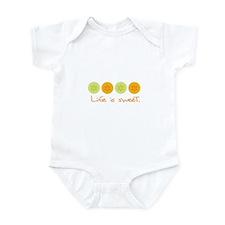 Life is Sweet (citrus) Infant Bodysuit