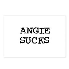 Angie Sucks Postcards (Package of 8)