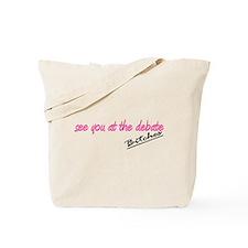 Funny Paris Hilton Bitches Tote Bag