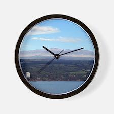 Mauna Kea Wall Clock