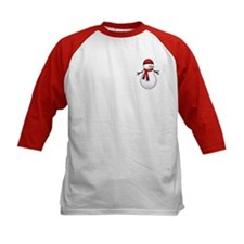 Red Snowman Tee