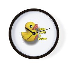 Lord Love A Duck! Wall Clock