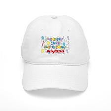 Alyssa's 3rd Birthday Baseball Cap