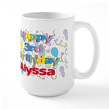 Alyssa's 3rd Birthday Mug