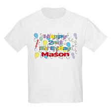 Mason's 2nd Birthday T-Shirt