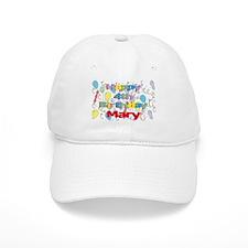 Mary's 4th Birthday Baseball Cap