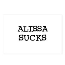 Alissa Sucks Postcards (Package of 8)